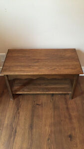 Solid Wood Side Table / Bench