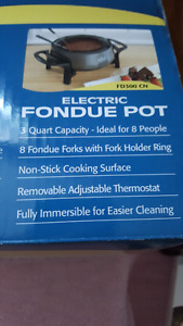Fondue Pot Electric