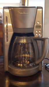 Moulinex 12-cup stainless coffee maker