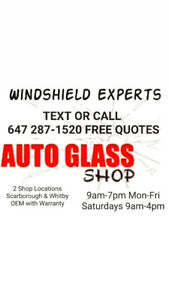 New Windshields auto glass repairs replacement cracked OEM 9am-7