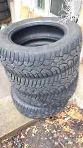 set of four 195/65r15 winter tires for sale,