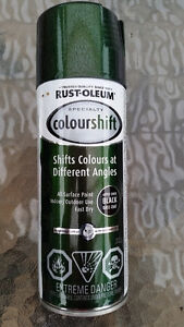 Spray Paint, Shifting Colour, Gamma Green - Brand New