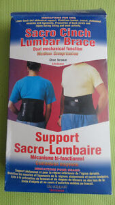 BRAND NEW BACK BRACE SUPPORT FOR THERAPY Windsor Region Ontario image 1