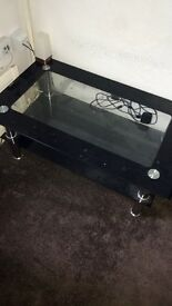 2 x coffee tables and tv unit