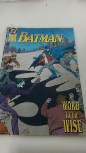 Batman Comic - A Word to the Wise