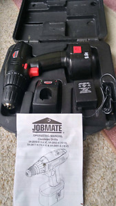 Barely used cordless drill and driver