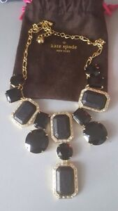 Kate Spade Black Necklace