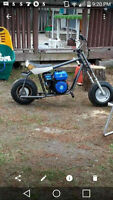Baja Mini Bike With New Engine
