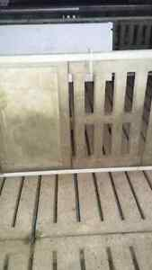 2 by 3 foot pig slats for sale used for walls.