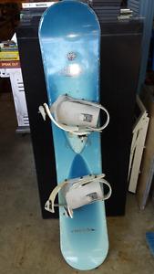 SIMS 50 SNOWBOARD WITH LAMAR BINDINGS