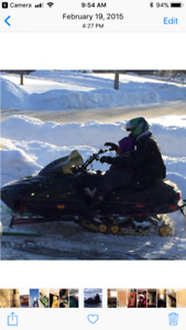 Mint 1997 583 with extra motor and parts sled!