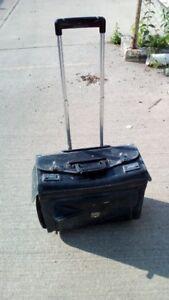 black rolling tool bag - 40$