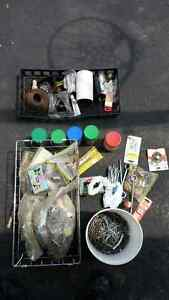 LOT OF NAILS FASTENERS ELECTRICAL $15 OBO Kingston Kingston Area image 2