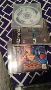PS1 Yugioh, NHL and Monsters Inc. Games