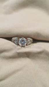 Beautiful faux diamond ring