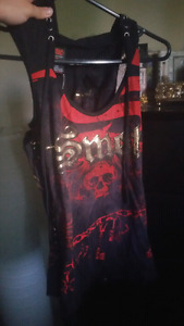 SMET  Hood Tank Top By Christian Audigier