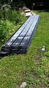 Steel roofing  $1.50 Per foot