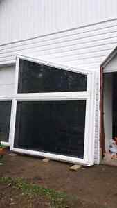 Tinted PVC Windows