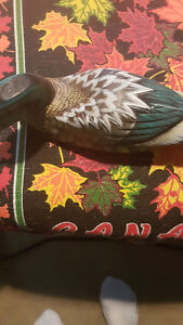 3 wood hand carved ducks ..$45 for all 3 Downtown-West End Greater Vancouver Area image 7