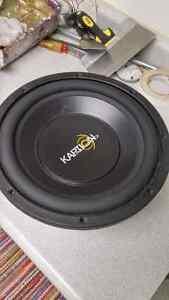 "1000 Watt 12"" Kaption Audio Sub (Not working) Windsor Region Ontario image 3"