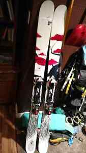 185 Line - Eric Pollard's Opus skis with Marker Tour F12s