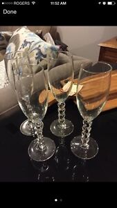 Champagne Glasses Set of 4