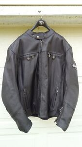 Men's Victory Classic Leather Motorcycle Jacket 3XL