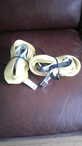 2 SMART STRAPS COMMERCIAL RATCHET WITH DOUBLE J HOOK