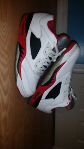 JORDAN 5 FIRE RED LOWS FOR SALE
