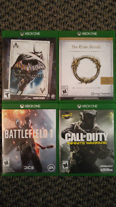 SELLING XBOX ONE GAMES