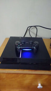 """PS4 and 32"""" tv for sale"""
