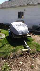 Home made Motorcycle trailer Sarnia Sarnia Area image 1