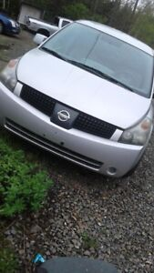 2005 nissan quest parting out