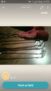 Lady Rave Golf Clubs