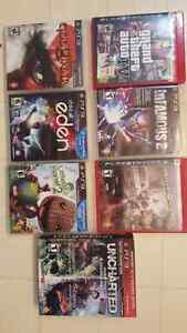 PS3 Games - Like New condition