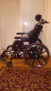 Maple Leaf SUPERTILT Wheelchair