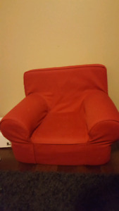 Pottery Barn kids Red Anywhere chair (Regular size 22x22)
