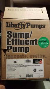 Pompe de puisard / sump pump