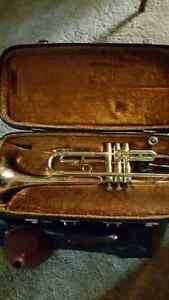 Trumpet and Stand