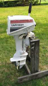 7.5HP JOHNSON OUTBOARD PARTS MOTOR (1980)