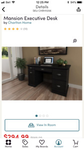 Mansion Executive Desk