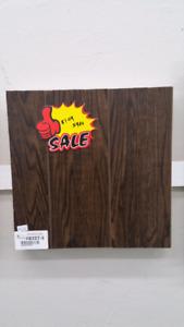 $1.09sqft 12mm laminate flooring