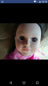 Gently used my life doll $15 firm