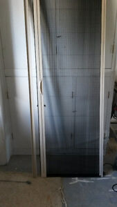 rollaway screen door