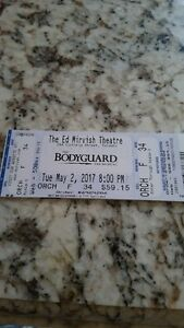 THE BODYGUARD 1/2 PRICE