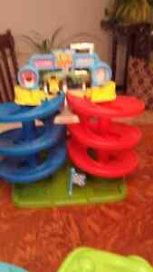 Fisher price toy story 3 race track