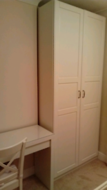 Double Wardrobe White
