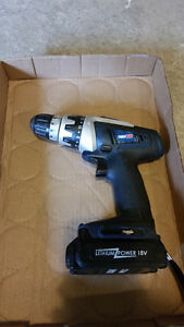 Father's Day Weekend New Price! PowerXT 18V Lithium Drill