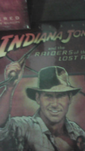 The indiania jones three movie collection on dvd