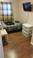 "Clean Quiet Room for Rent 32"" Smart TV Parking"